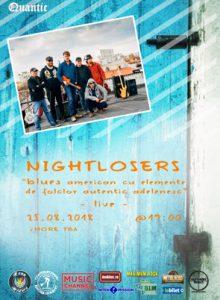 Nightlosers live @Quantic