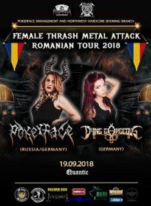 Female thrash metal attack