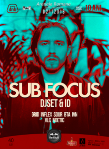 Arena dnb: Sub Focus, DjSet & ID