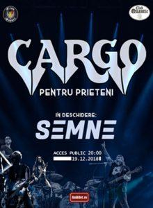 CARGO – Concert pentru prieteni