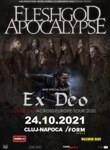 Fleshgod Apocalypse, Ex Deo la Cluj-Napoca