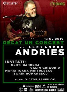 Alexandru Andries  –Decat un concert la Quantic