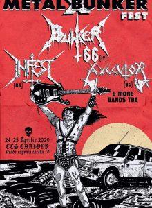 Metal Bunker X – Bunker 66 / Infest / Axecutor – (Anulat)