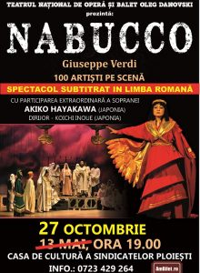 NABUCCO de Giuseppe Verdi