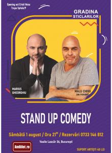 Stand up comedy cu Malu Chivu, Marius Gheorghiu si Cristi Voicu