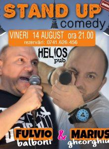 Stand up comedy cu Fulvio Balboni si Marius Gheorghiu