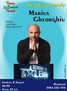 Stand up comedy cu Marius Gheorghiu si Cristi Voicu