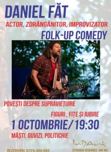 FOLK-up Comedy cu Daniel Fat