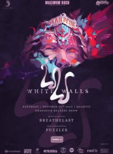 """White Walls – Lansare album """"Grandeur'' (Amanat)"""