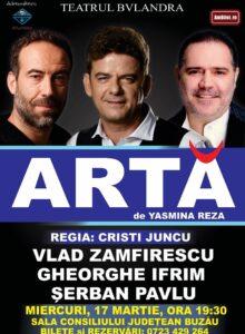 ARTA de Yasmina Reza (spectacol de teatru)