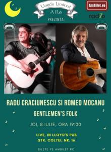 Radu Craciunescu si Romeo Mocanu