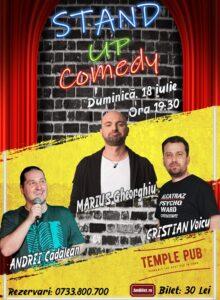 Stand up comedy la Brasov cu Marius Gheorghiu si Cristi Voicu