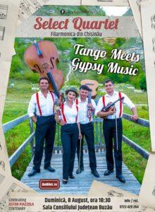Tango meets Gypsy Music -Select Quartet (Filarmonica din Chisinau)