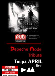DEPECHE MODE Tribute cu Trupa APRIL