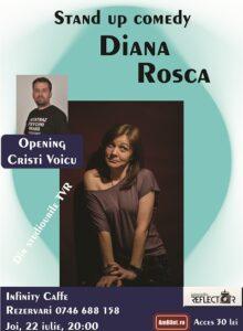 Stand up comedy cu Diana Rosca si Cristi Voicu