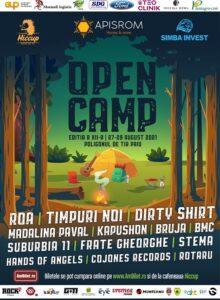 Open Camp Vaslui, ed. a XII-a