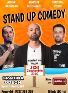 Stand up comedy cu Marius Gheroghiu, Andrei Gadalean si Cristi Voicu
