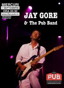 JAY GORE (US) & The PUB Band