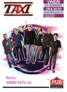 TAXI – Live @ The PUB Universitatii