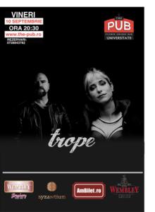 TROPE (US) @ The PUB Universitatii