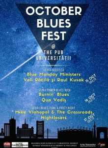 October Blues Fest @The Pub Universitatii
