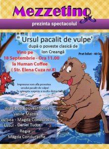 Ursul pacalit de vulpe- teatru